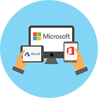 Dịch vụ đám mây Office và Azure hợp tác cùng Microsoft