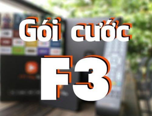Tất cả thông tin chi tiết về gói cước F3 của FPT