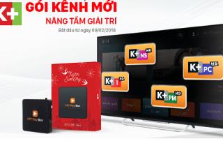 Gói kênh K+ trên Truyền hình cap FPT