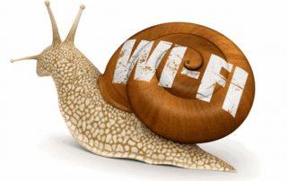 Tại sao Wifi mạnh nhưng vào mạng chậm