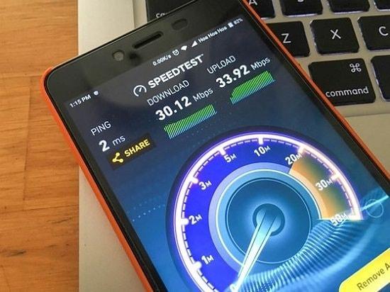 Kiểm tra tốc độ mạng bằng Speed Test