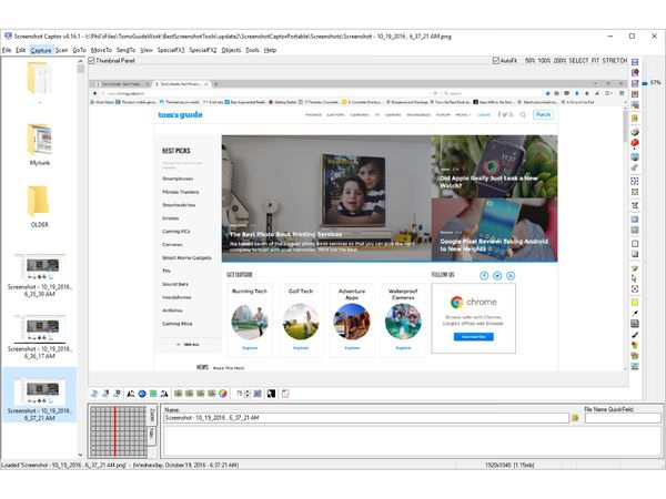 Phần mềm chụp ảnh màn hình máy tính Screenshot Captor