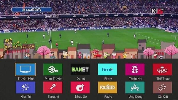 Gói kênh K+ trên truyền hình FPT có nhiều ưu điểm nổi bật