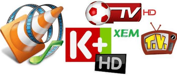 Xem truyền hình K+ bằng VLC
