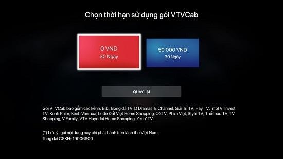 Mua gói VTVcab trên FPT Play Box - 2