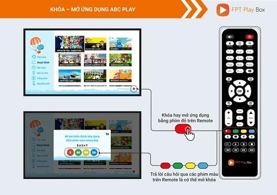 Khóa – mở ứng dụng ABC Play