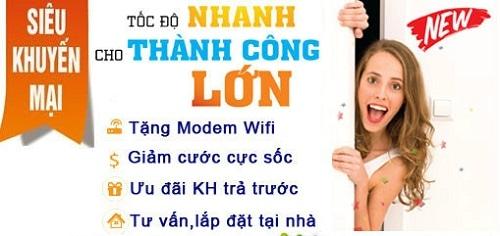 Rất nhiều ưu đãi khi lắp mạng FPT Nam Định